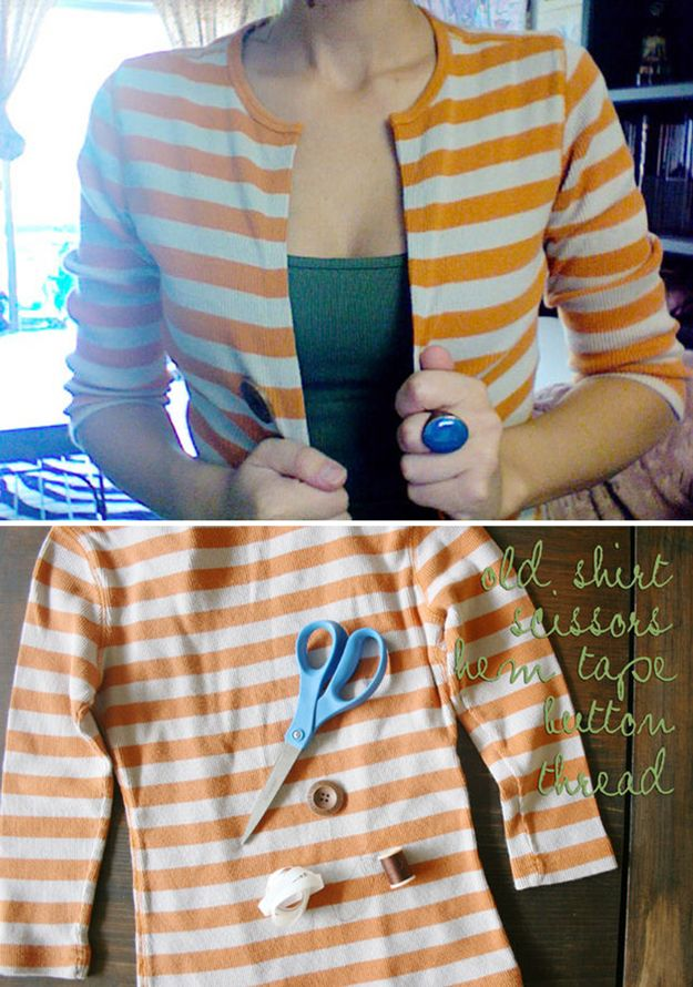 Hacks de vestir de DIY para todas las niñas | http://artesaniasdebricolaje.ru/22-diy-hacks-to-make-your-clothing-last-longer/