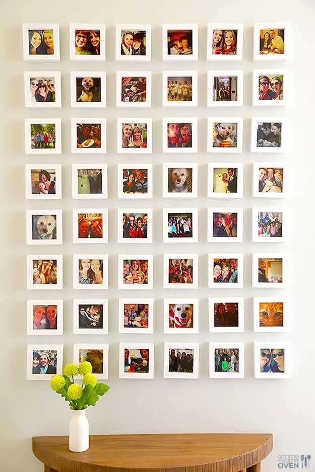 Frescos de bricolaje Ideas de arte de la pared para la decoración del sitio | http://artesaniasdebricolaje.ru/easy-teen-room-decor-ideas-for-girls/
