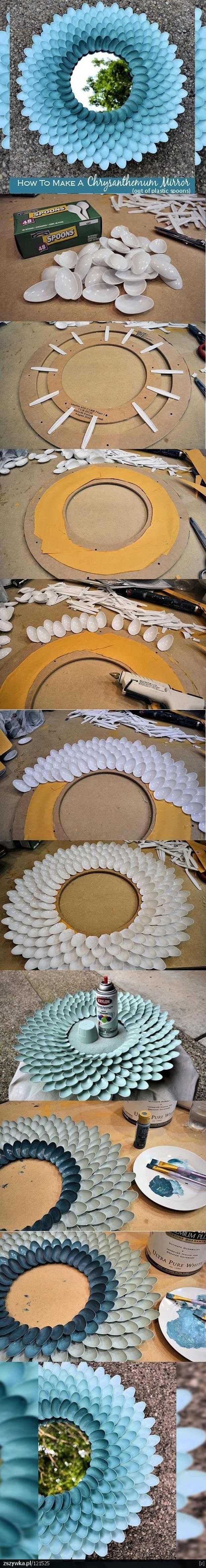 Idea fresca Espejo Decoración de la muchacha adolescente Dormitorio | http://artesaniasdebricolaje.ru/easy-teen-room-decor-ideas-for-girls/