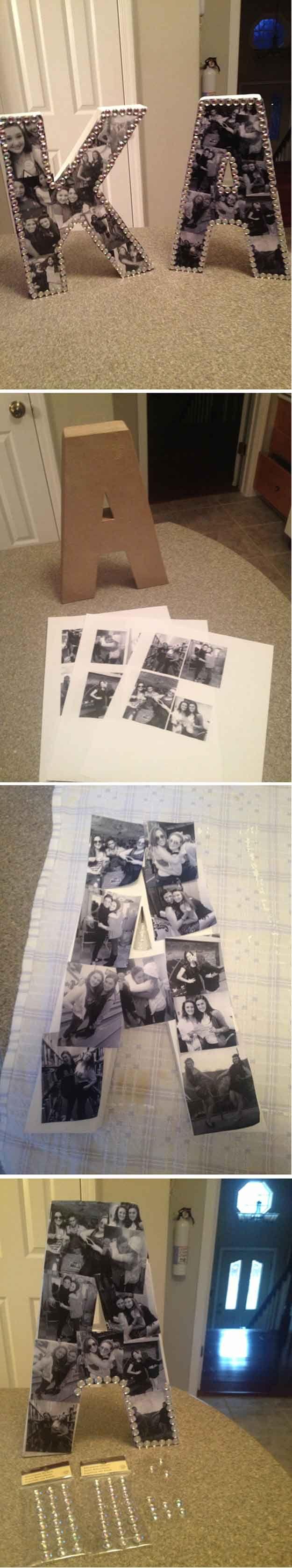 Frescos de bricolaje de fotos Decoración Ideas para Adolescentes Habitación Chicas | http://artesaniasdebricolaje.ru/easy-teen-room-decor-ideas-for-girls/
