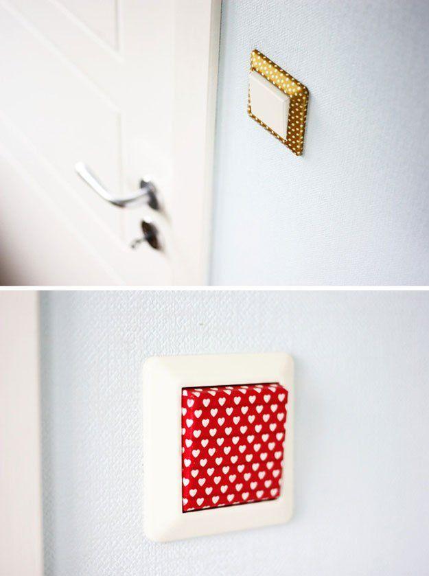 Proyectos DIY fresca cinta Washi para Ideas adolescente habitación | http://artesaniasdebricolaje.ru/easy-teen-room-decor-ideas-for-girls/