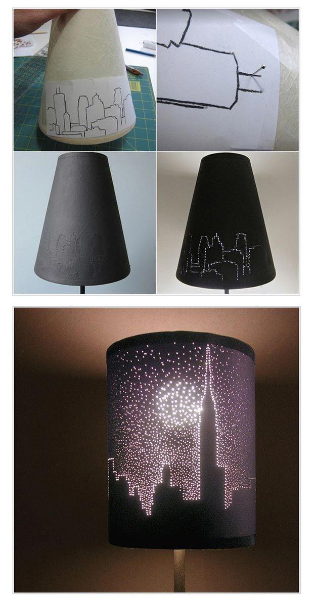 Lámparas de bricolaje frescos para los Teen Girl Dormitorios | http://artesaniasdebricolaje.ru/easy-teen-room-decor-ideas-for-girls/