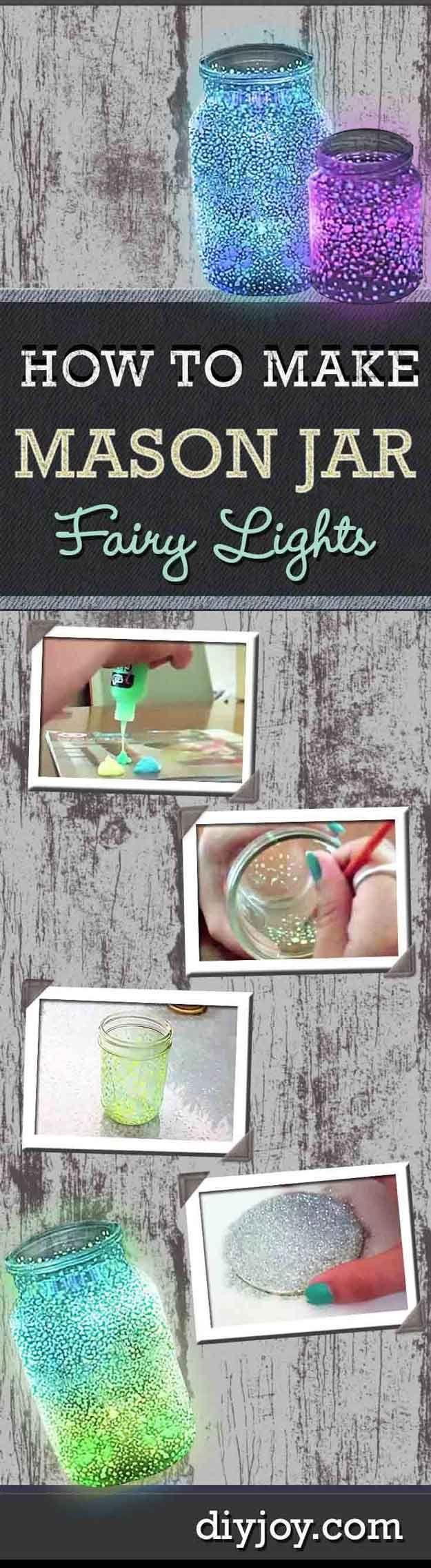 Hada Luz Dormitorio Decoración Ideas para Chicas | http://artesaniasdebricolaje.ru/easy-teen-room-decor-ideas-for-girls/