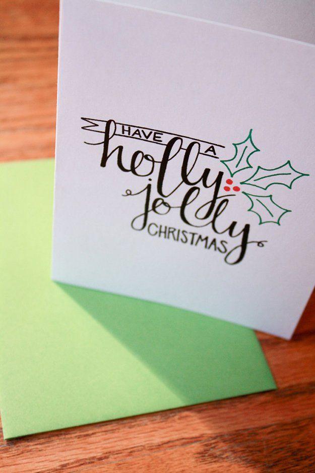 Ideas de tarjetas de navidad