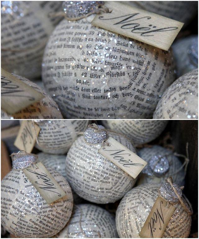 23 hechos en casa Adornos de Navidad | Navidad Ideas de decoración