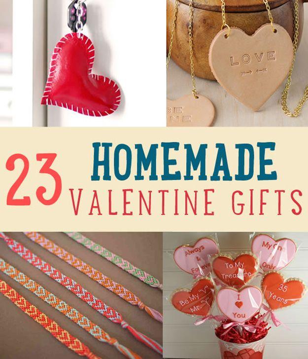 23 Regalos hechos en casa de San Valentín Usted debe dar