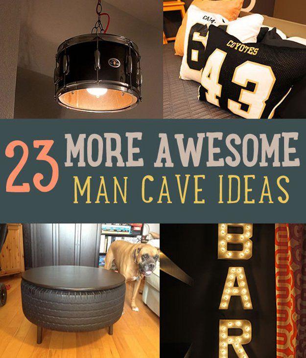 Fotografía - 23 Más impresionante Ideas cueva del hombre para Manly Oficios Lovers