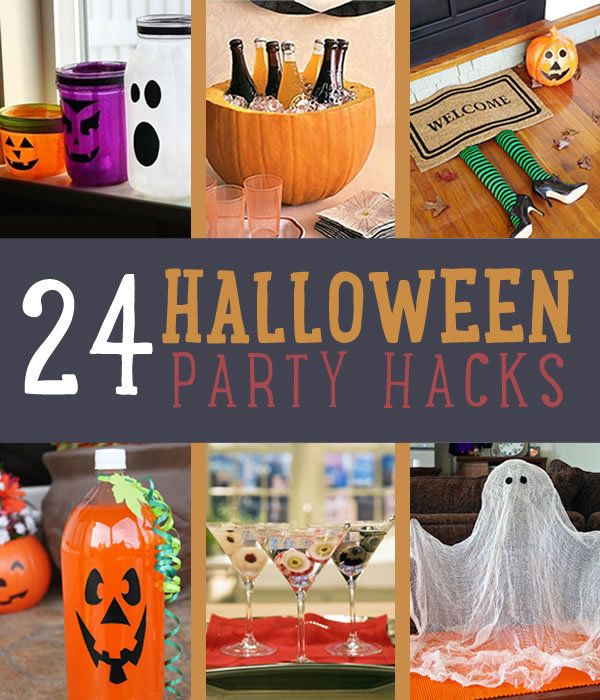 24 DIY Halloween Party Hacks