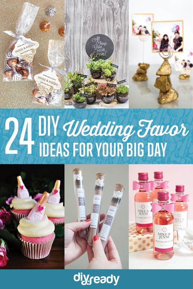 Fotografía - 24 ideas favor de la boda de bricolaje
