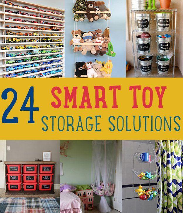 24 Soluciones de Almacenamiento Inteligente Juguete | artesaniasdebricolaje.ru/storage-solutions-life-hack/
