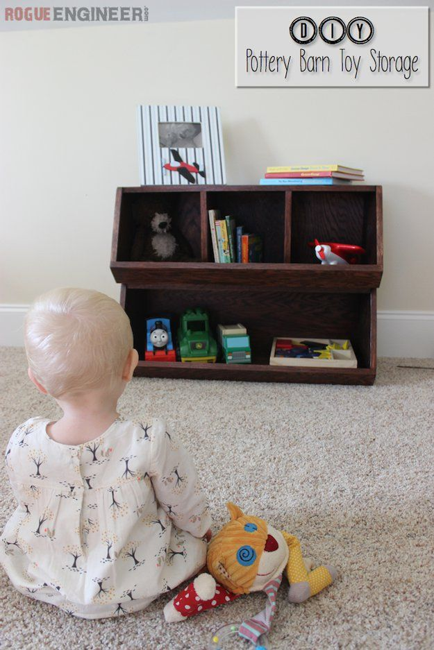Almacenamiento juguete DIY barato para los niños | artesaniasdebricolaje.ru/storage-solutions-life-hack/