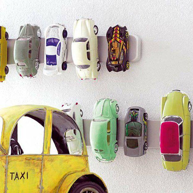 Fácil y creativo DIY Toy Storage Ideas a muchachos | artesaniasdebricolaje.ru/storage-solutions-life-hack/