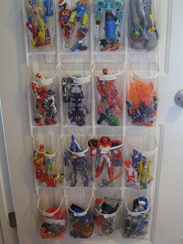 Fácil y juguete barato solución de almacenamiento para los niños | artesaniasdebricolaje.ru/storage-solutions-life-hack/