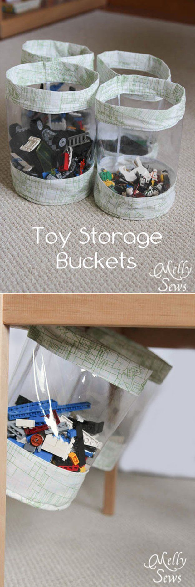 DIY ocultos Toy Storage Ideas | artesaniasdebricolaje.ru/storage-solutions-life-hack/