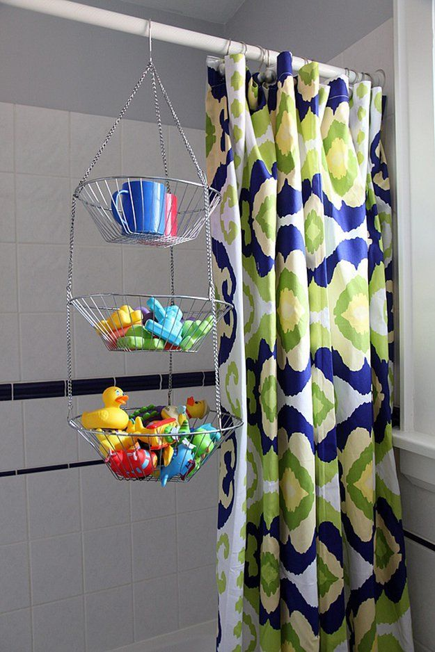Ducha Hanging Toy Storage Hack | artesaniasdebricolaje.ru/storage-solutions-life-hack/