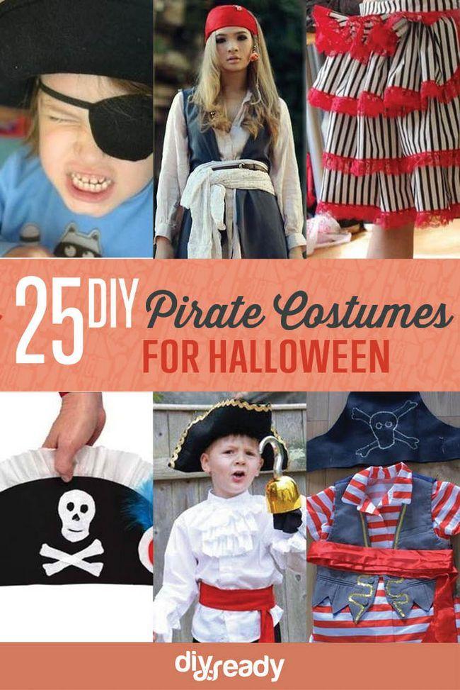 Fotografía - 25 Argh-tastic bricolaje Ideas traje de pirata