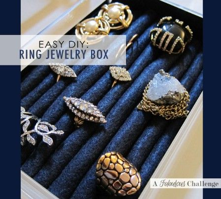 Ring Box DIY