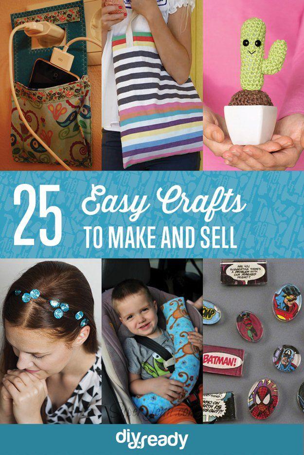Fotografía - 25 Manualidades para fabricar y vender