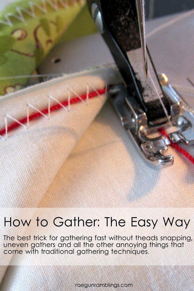 Fresco y fácil de coser Hack Ideas | http://artesaniasdebricolaje.ru/sewing-ideas-life-hacks/