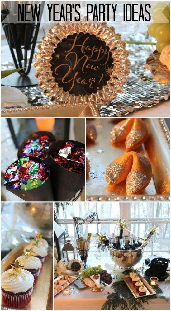Clásicos Sombreros y Champagne - 28 ideas divertidas y Eva Partido DIY fácil del Año Nuevo