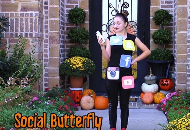 Fotografía - 28 Más de última hora de Halloween ideas para disfraces (VIDEO)