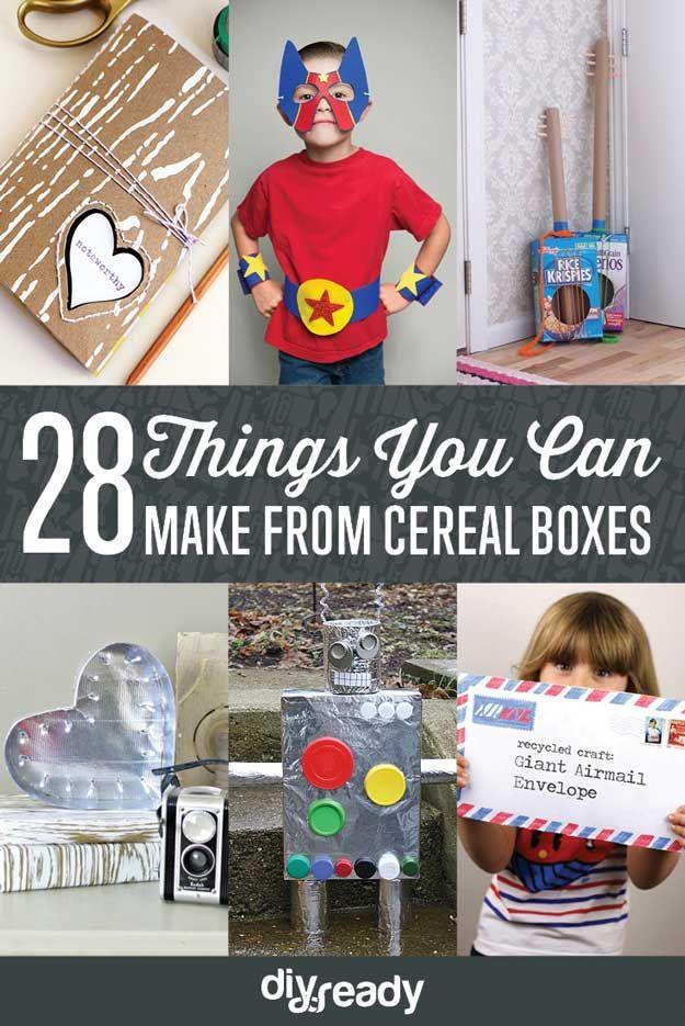 Fotografía - 28 cosas que usted puede hacer de las cajas de cereales