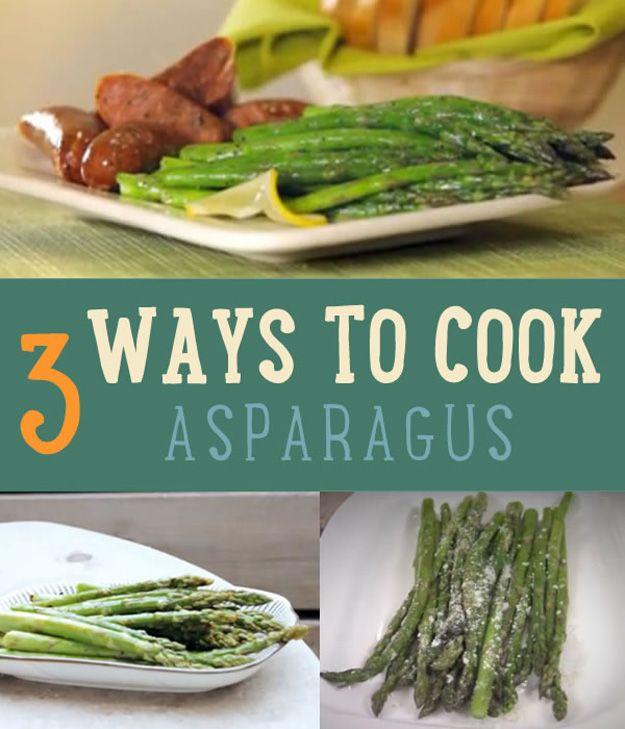 3 maneras de cocinar el espárrago   Cómo cocinar el espárrago
