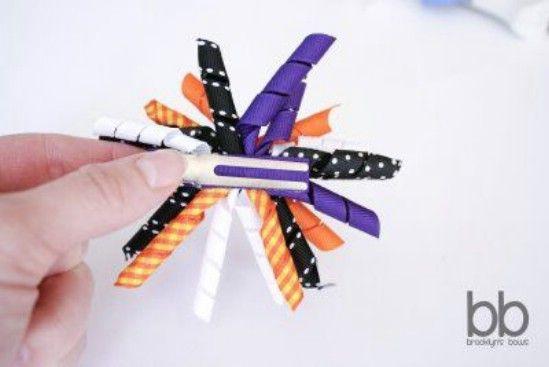 De Halloween korker arquea - 30 fabuloso y fácil de hacer bricolaje arcos del pelo