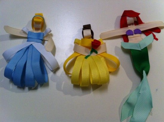 Disney Princess cinta Arcos - 30 fabuloso y fácil de hacer arcos de pelo DIY