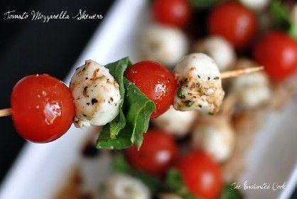 Tomate Mozzarella Pinchos