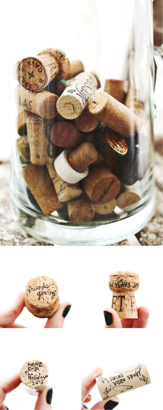 Ideas fáciles Vino Corcho bricolaje | http://artesaniasdebricolaje.ru/more-wine-cork-crafts-ideas/