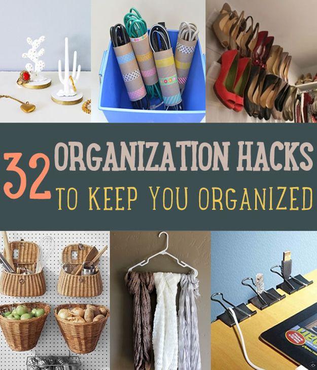Fotografía - 32 Organización Hacks que puede mantener a cualquier persona (incluso le HUM) organizada