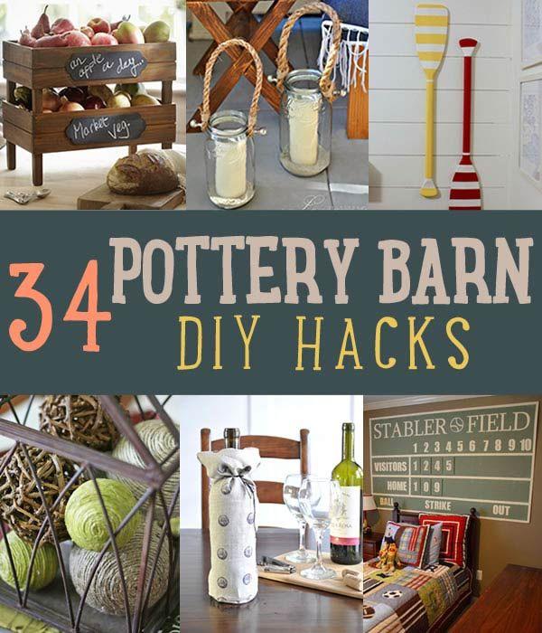 Fotografía - 34 DIY Pottery Barn Hacks su billetera se lo agradecerán
