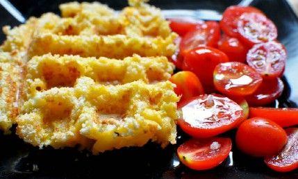 Macarrones con queso - 35 deliciosas comidas no lo hiciste't Know You Could Cook in Your Waffle Iron
