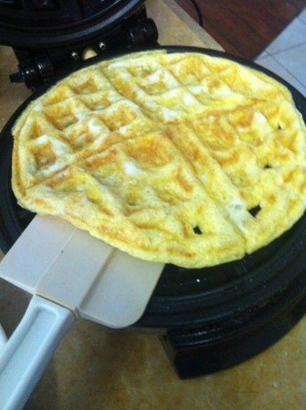 Huevos - 35 deliciosas comidas no lo hiciste't Know You Could Cook in Your Waffle Iron