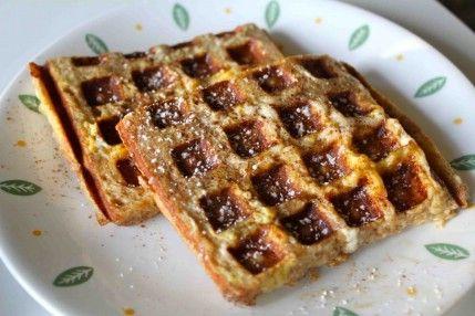 Pan francés - 35 deliciosas comidas no lo hiciste't Know You Could Cook in Your Waffle Iron