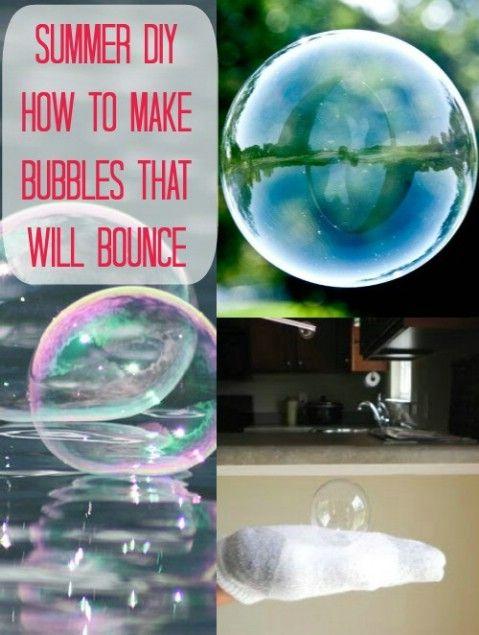 Más fresco del verano DIY - Bouncing Burbujas - 35 Summery bricolaje Proyectos y actividades para el mejor verano