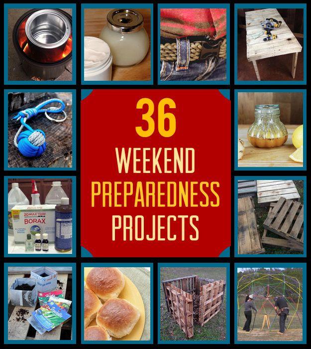 Fotografía - 36 DIY Proyectos fin de semana para la preparación y la supervivencia