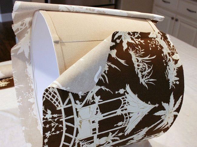 Pantallas Bricolaje - tejido revestido