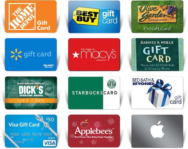 ¿Qué hacer con las tarjetas de regalo no deseado