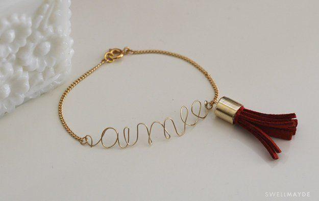 Crear opciones con su joyería de alambre.