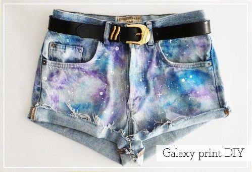 Jeans Galaxy cortes