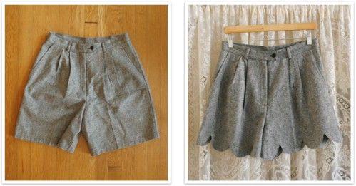 Pantalones cortos festoneado Office Edge