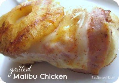 Pollo a la parrilla Malibu