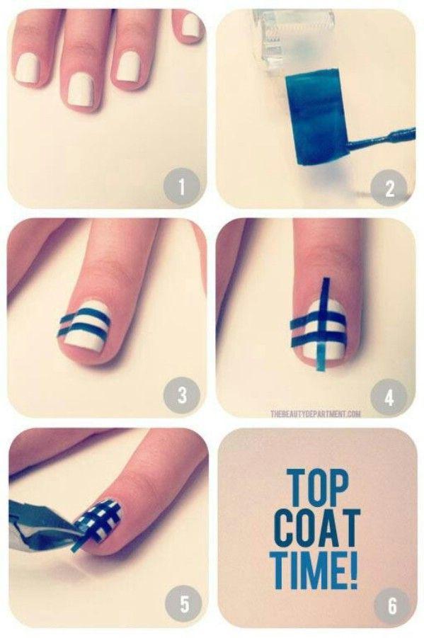 Fácil Guinga Verificar Nails - 40 de bricolaje belleza Hacks Que Son Genius Borderline