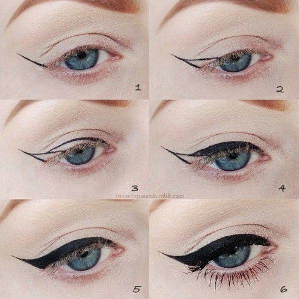 Aprenda Cómo crear un Winged look con maquillaje de ojos - 40 de bricolaje belleza Hacks Que Son Genius Borderline