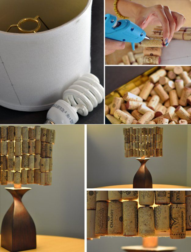 Enfriar bricolaje Vino Cork Proyecto Craft | http://artesaniasdebricolaje.ru/more-wine-cork-crafts-ideas/