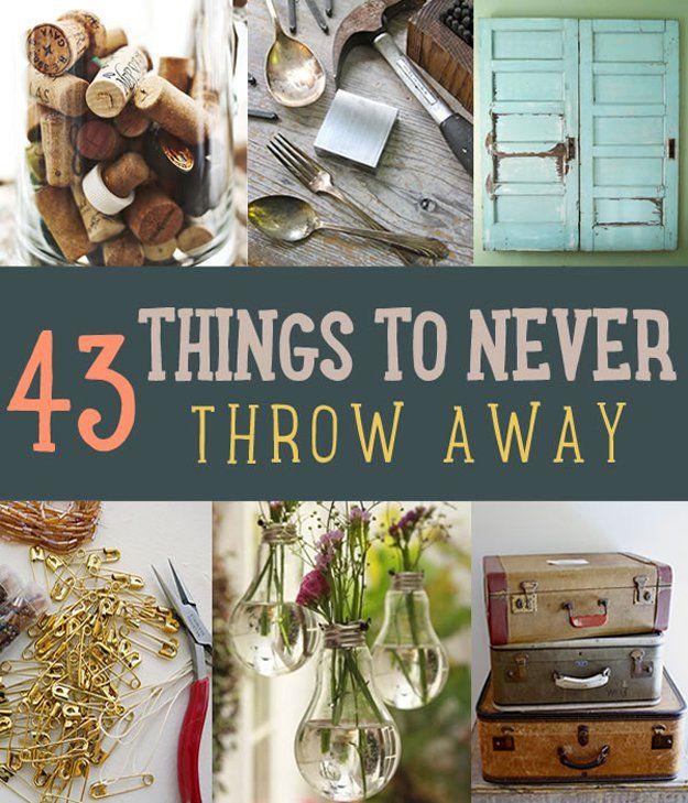 Fotografía - 43 Cosas No DIYer alguna vez Throw Away