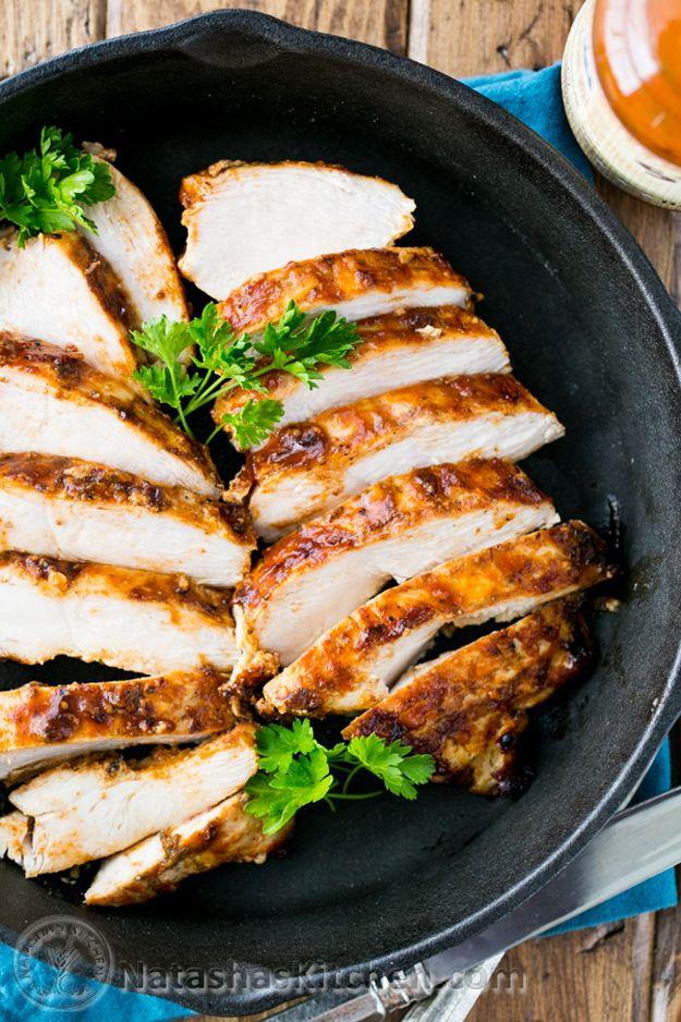 Las mejores ideas de recetas de pollo barbacoa | http://artesaniasdebricolaje.ru/diy-recipes-bbq-ideas/