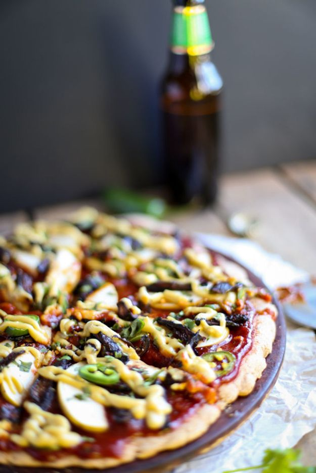 Hecho en casa Receta BBQ Vegetariana | http://artesaniasdebricolaje.ru/diy-recipes-bbq-ideas/